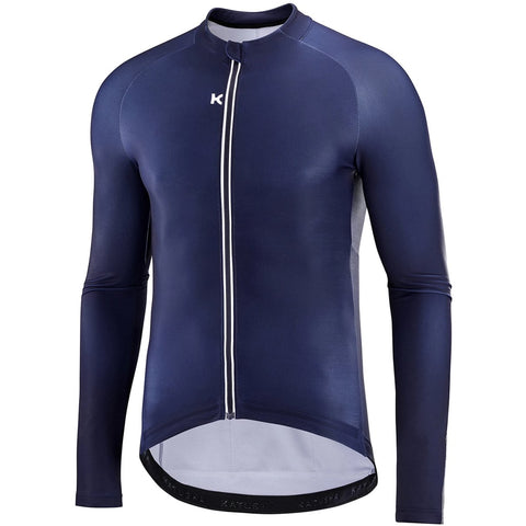 Katusha Apparel - WARM Cycling Jersey Long Sleeve - Peacoat