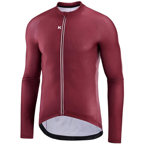 Katusha Apparel - WARM Cycling Jersey Long Sleeve - Sangre