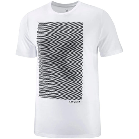 Katusha Cotton Cycling T-Shirt - White K-Illusion