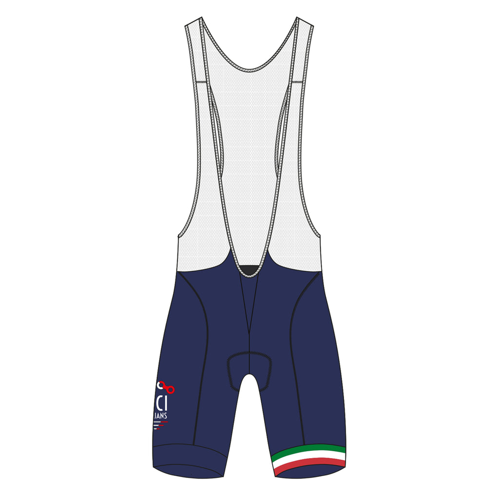BICITALIANS Women's Bib Shorts - Bici Blue