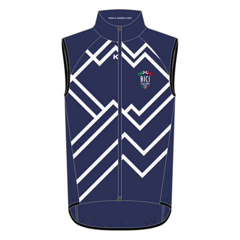 BICITALIANS Wind Vest - Bici Blue