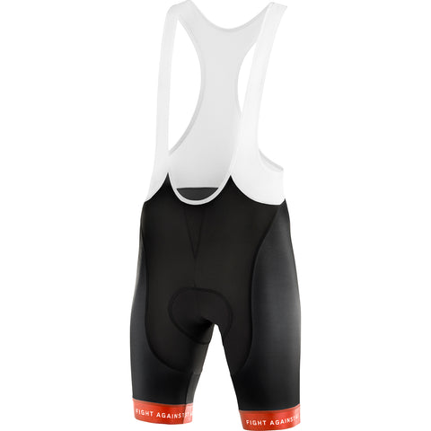 GREIPEL Fight ALS Bib Shorts - Black / Coral