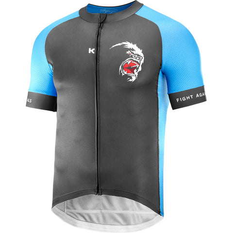 GREIPEL Fight ALS Jersey - Asphalt / Blue