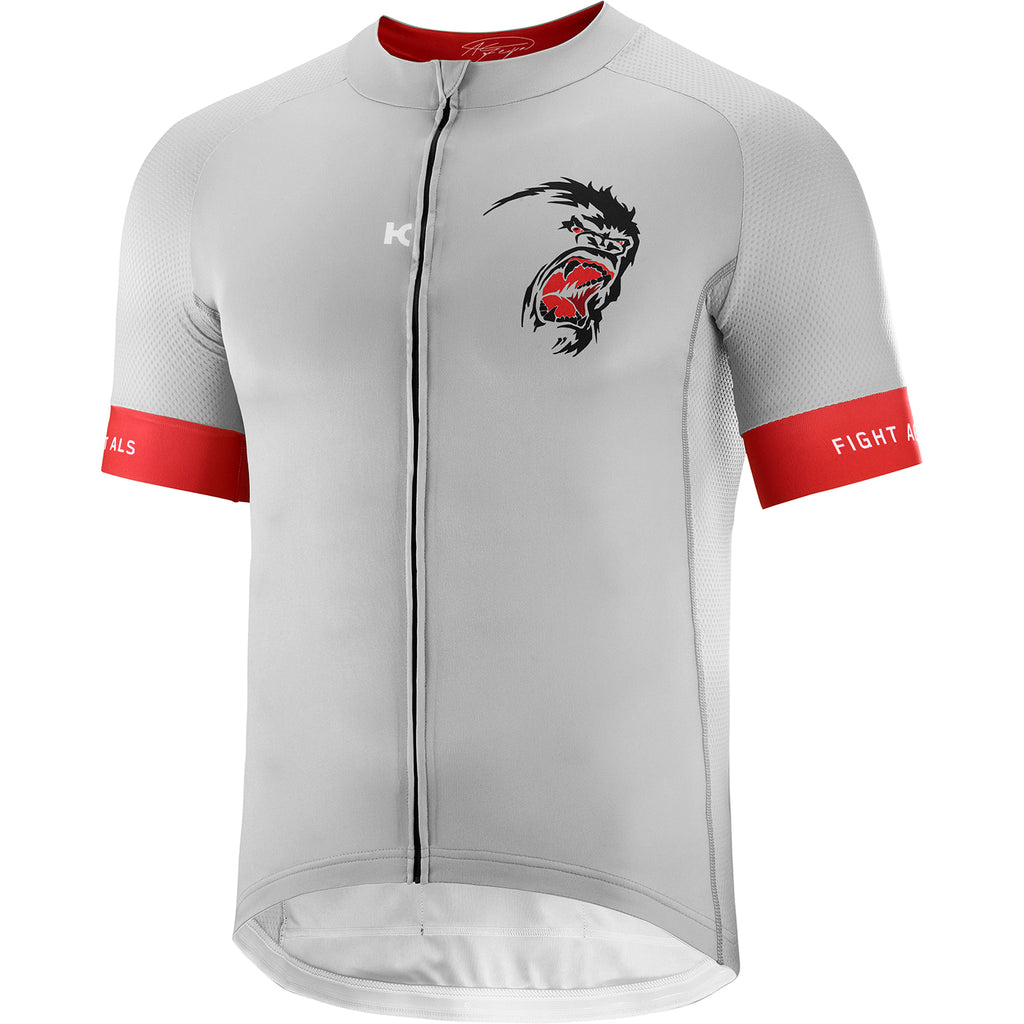GREIPEL Fight ALS Jersey - Micro Chip / Coral