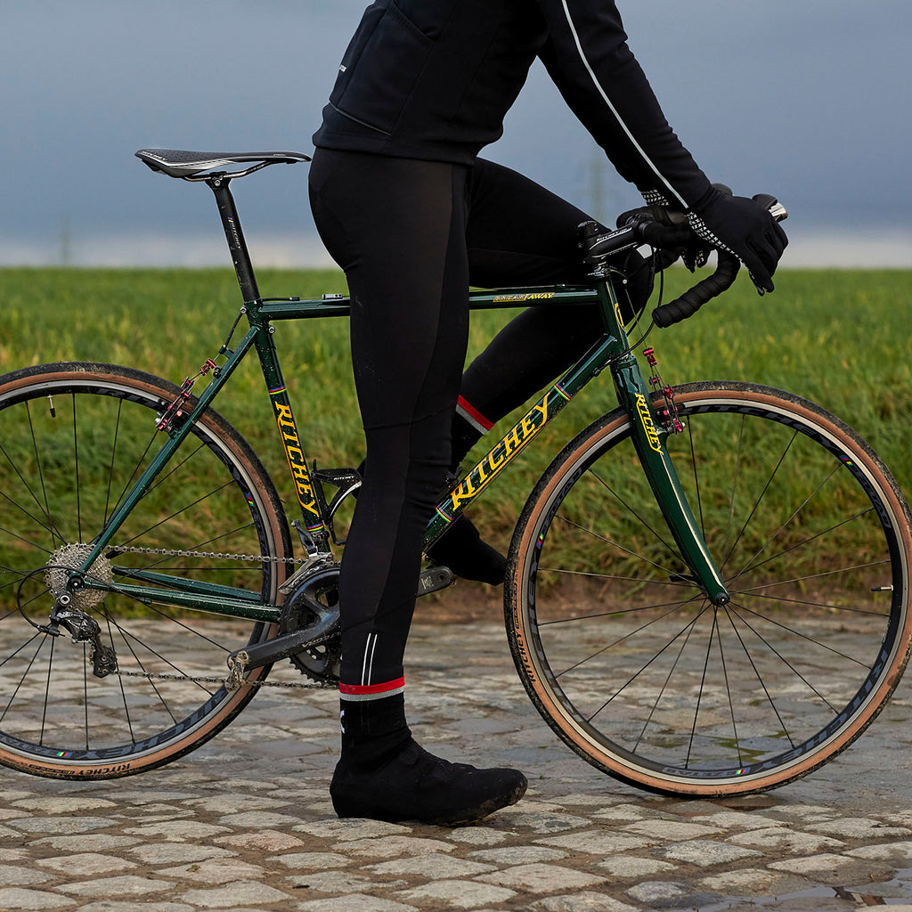 Katusha REFLECTIVE Cycling Oversocks - Black Silver