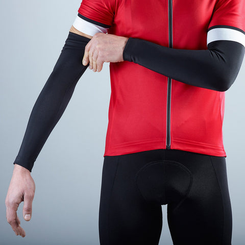 Katusha Cycling ARM Warmers - Black