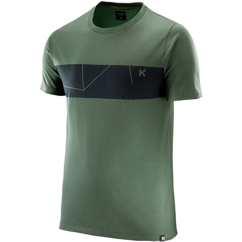 Katusha Cycling COTTON T-shirt Short Sleeve - Duck Green