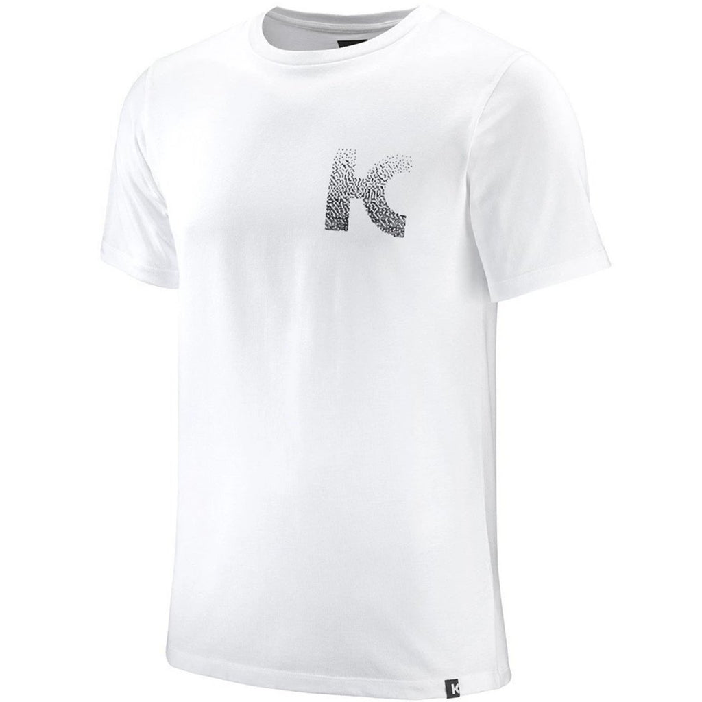Katusha Cycling COTTON T-shirt Short Sleeve - UR White