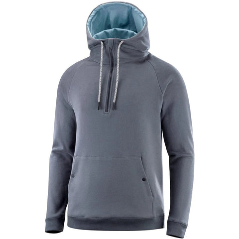Katusha Cycling COMMUTER Half Zip Hoodie - Iron Gate