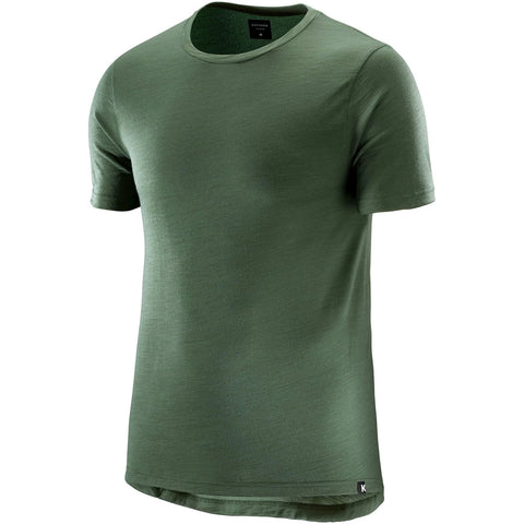 Katusha Cycling MERINO T-shirt Short Sleeve - Duck Green