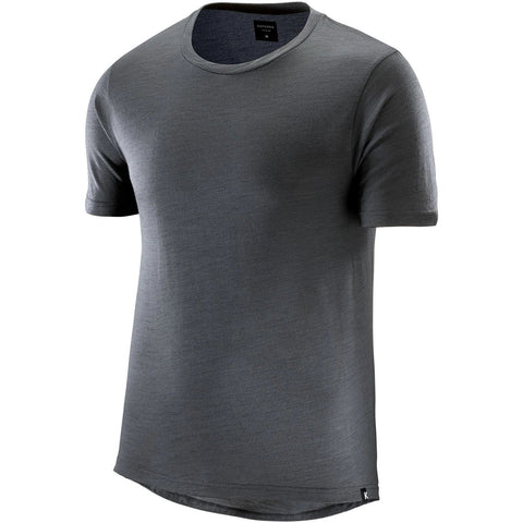 Katusha MERINO T-shirt Short Sleeve - Iron Gate
