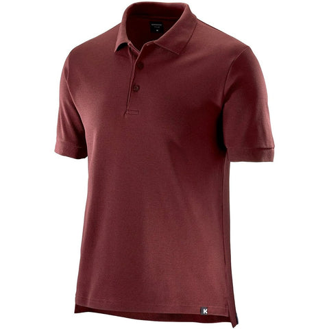 Katusha Cycling POLO Short Sleeve - Fired Brick