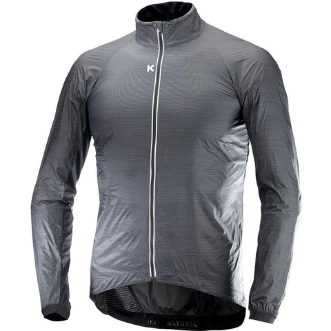 Katusha WIND Cycling Jacket - Black