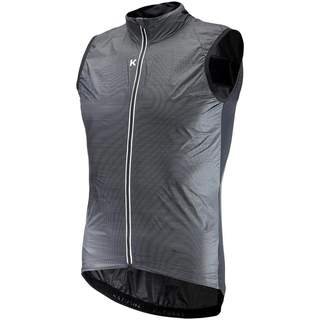 Katusha Cycling WIND Vest - Black