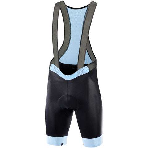 Katusha ICON Cycling Bib Shorts - Black Light Blue