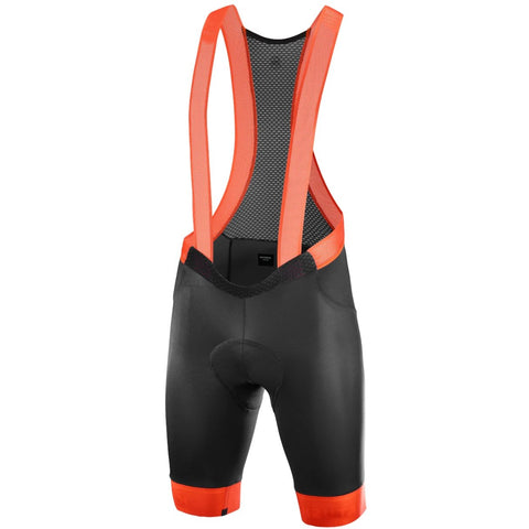 Katusha ICON Cycling Bib Shorts - Black Orange