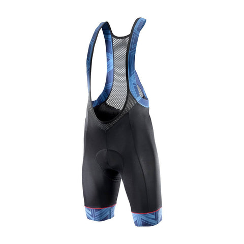 Katusha ICON Cycling Bib shorts - Black Peacoat AOP