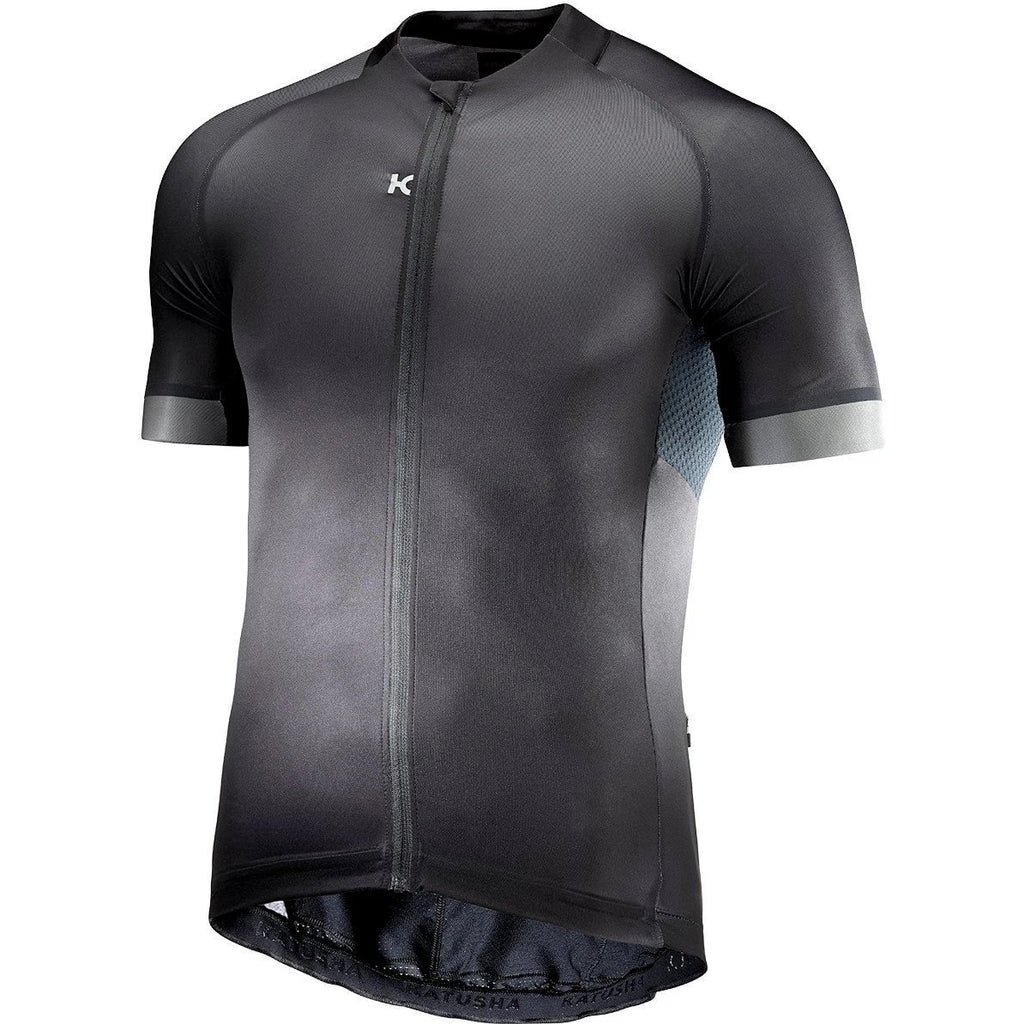Katusha ICON Cycling Jersey Short Sleeve 2017 - Black