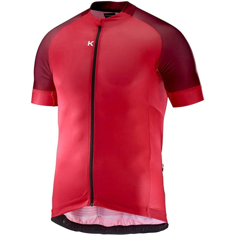 Katusha ICON Cycling Jersey Short Sleeve - Coral Sangre