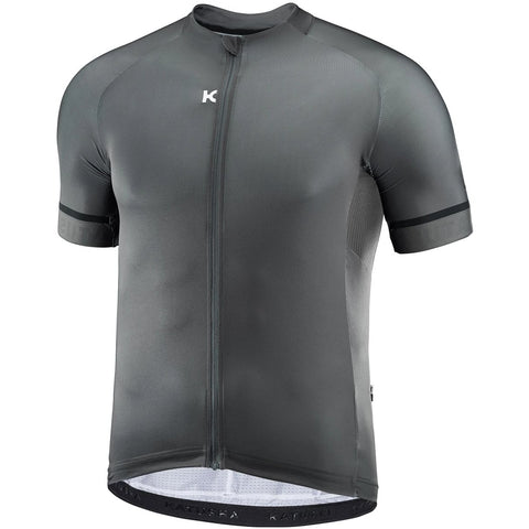 Katusha ICON Cycling Jersey Short Sleeve - Grey