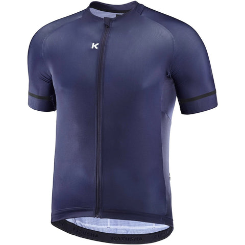 Katusha ICON Cycling Jersey Short Sleeve - Peacoat Blue