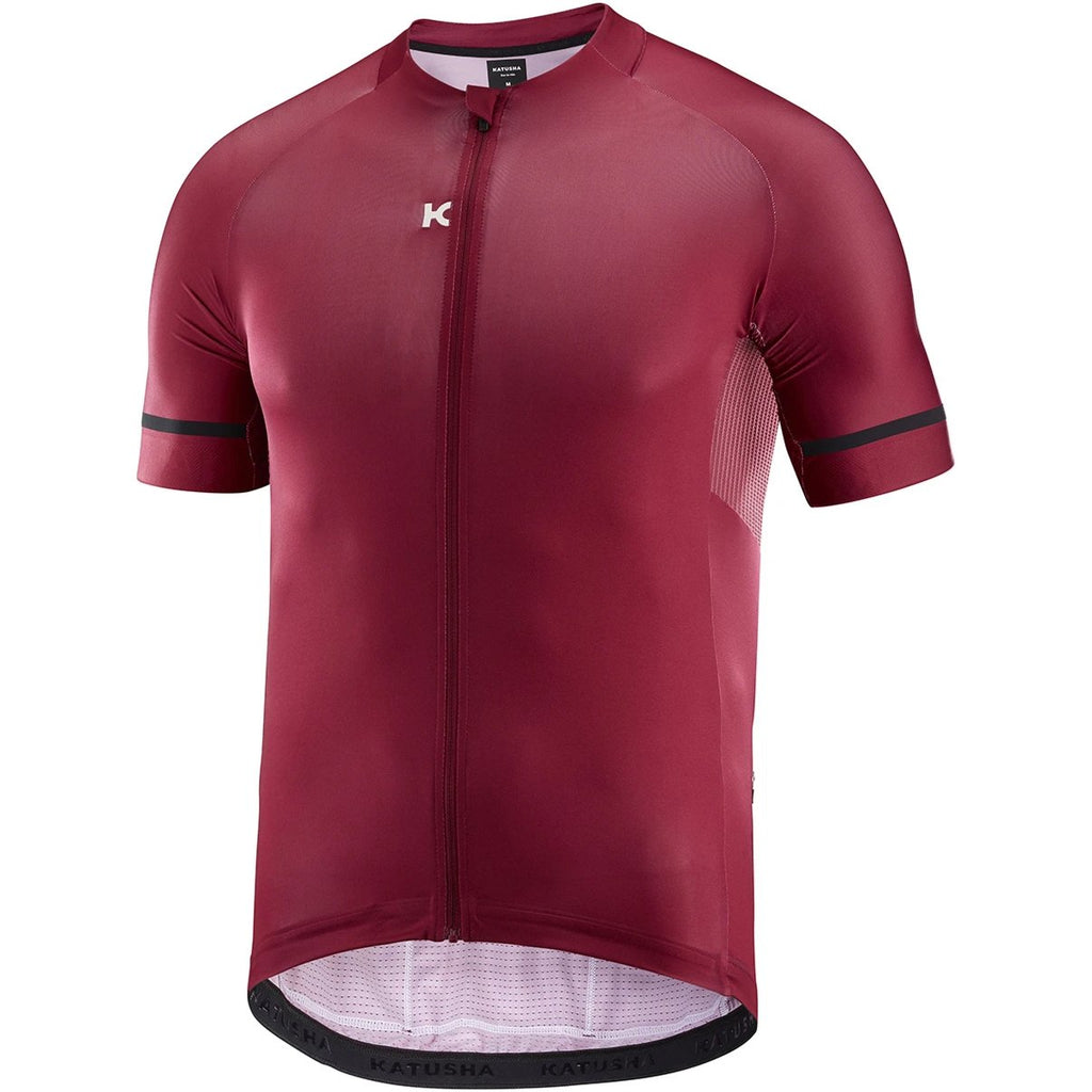 Katusha ICON Cycling Jersey Short Sleeve - Sangre