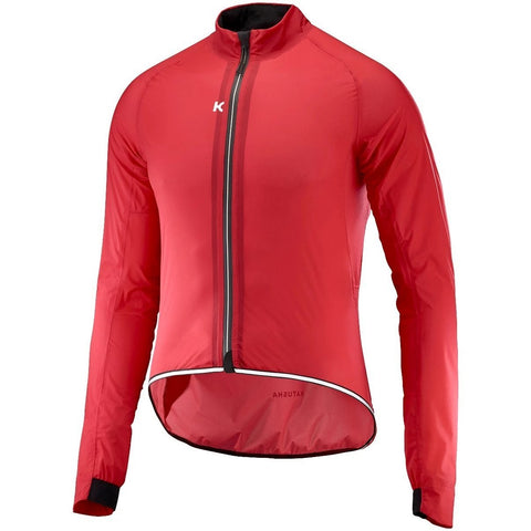 Katusha LIGHT RAIN Cycling Jacket - Coral