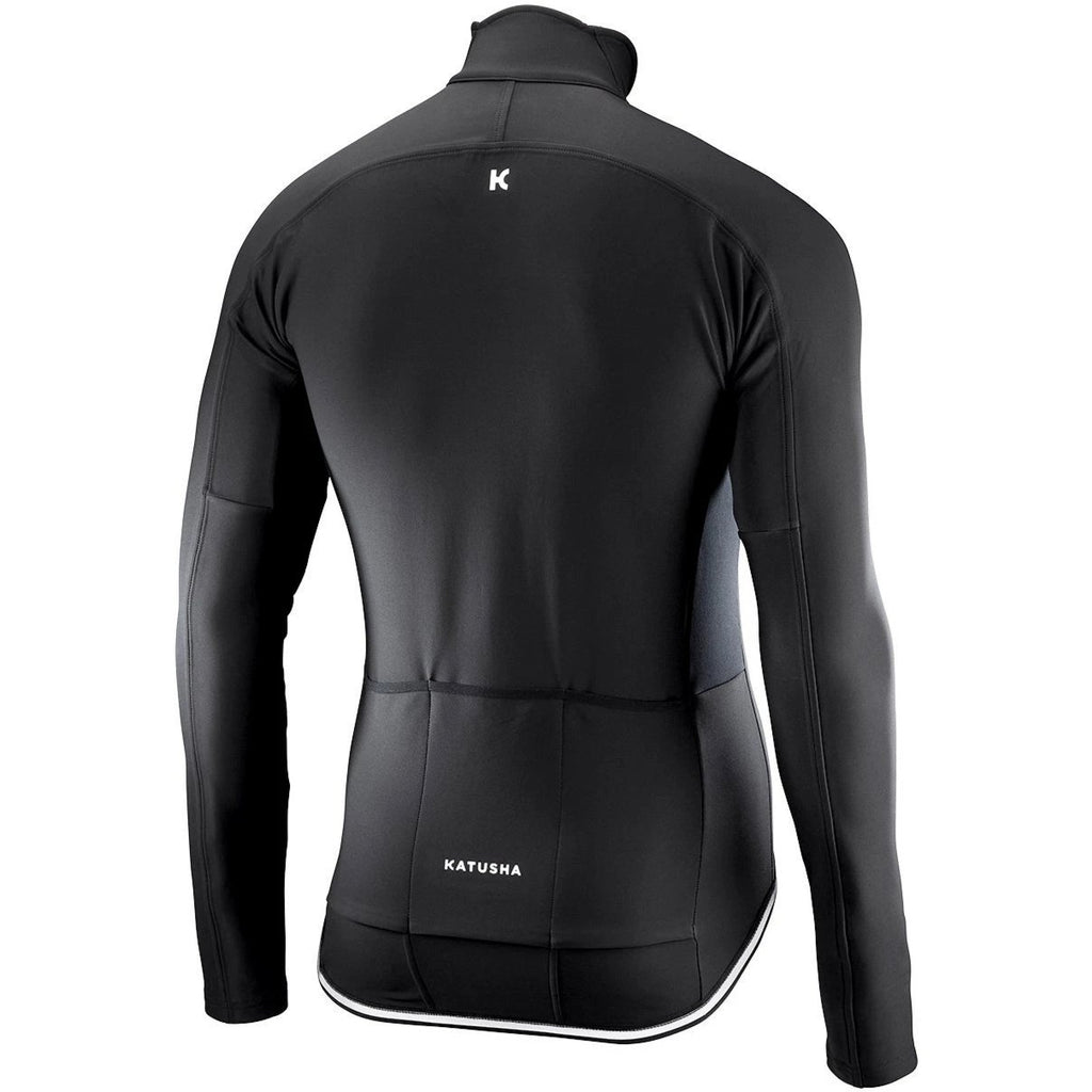 Katusha LIGHT SOFTSHELL Cycling Jacket Long Sleeve - Black