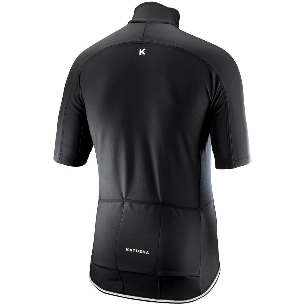 Katusha LIGHT SOFTSHELL Cycling Jacket Short Sleeve - Black