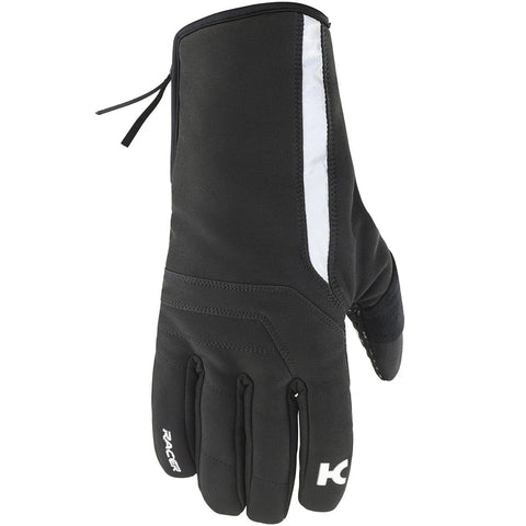 Katusha Apparel - WATERPROOF Cycling Gloves - Black