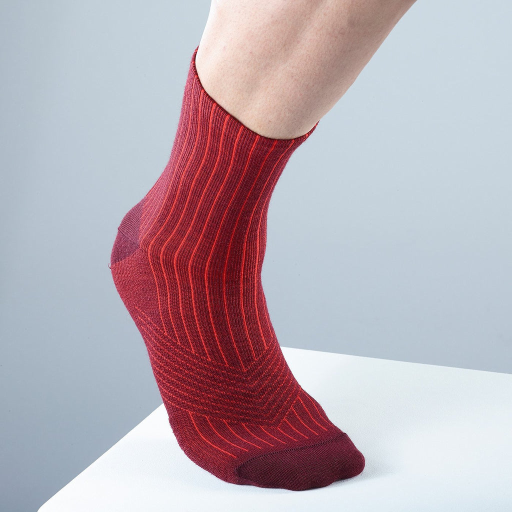 Katusha MERINO Cycling Socks - Sangre