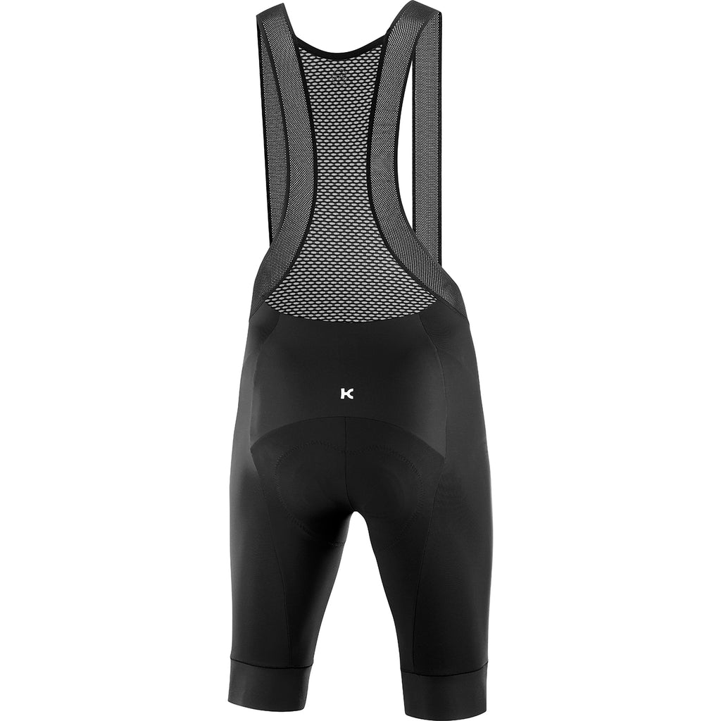 KATUSHA Men's Icon Cycling Bib Shorts Long - Black