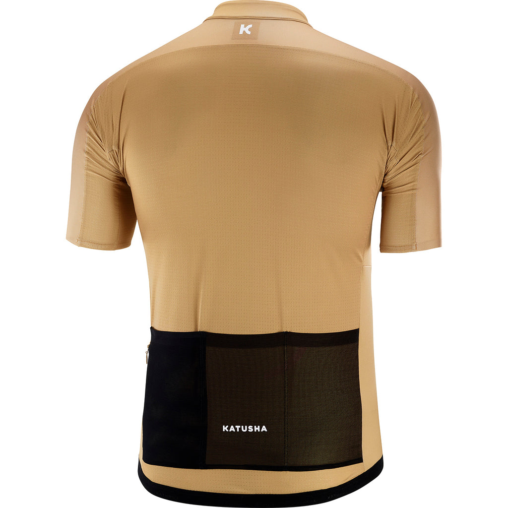 KATUSHA Men's ICON Cycling Jersey - Curry