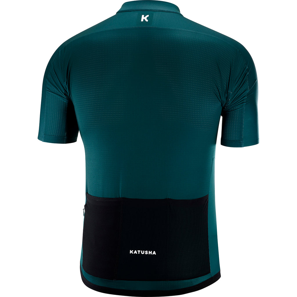 KATUSHA Men's ICON Cycling Jersey - Deep Teal