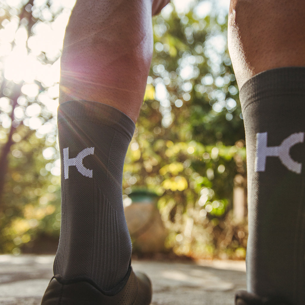 KATUSHA Men's PERFORMANCE Cycling Socks - Asphalt
