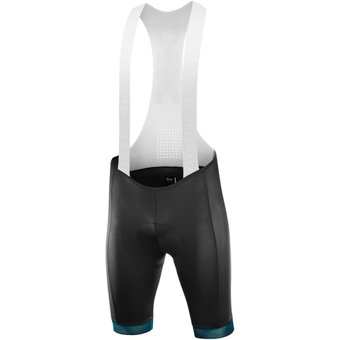 Katusha SUPERLIGHT Cycling Bib Shorts - Black / Deep Teal