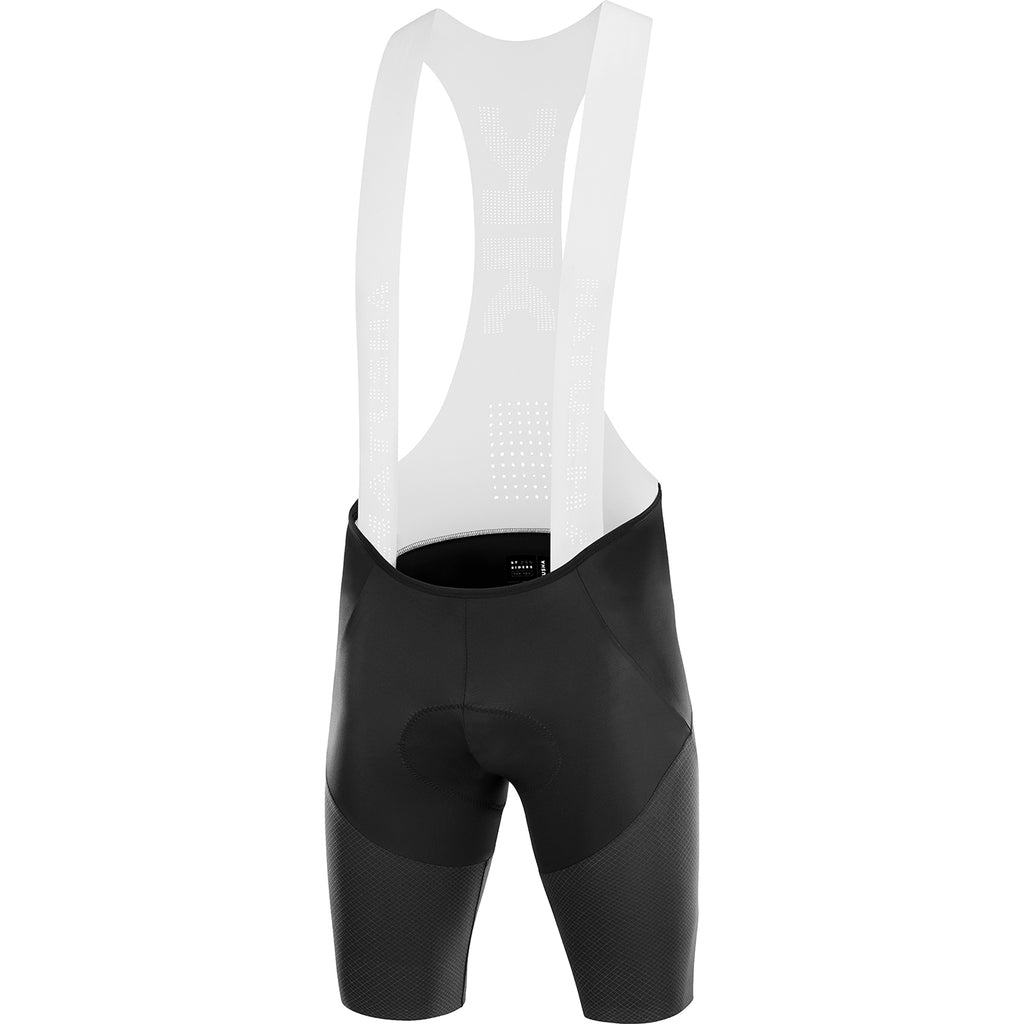 KATUSHA Men's SUPERLIGHT GRID Cycling Bib Shorts - Black / White