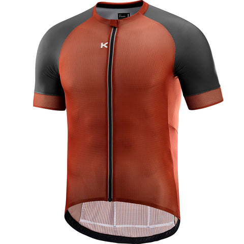 KATUSHA Men's SUPERLIGHT Cycling Jersey - Arabian Spice / Asphalt