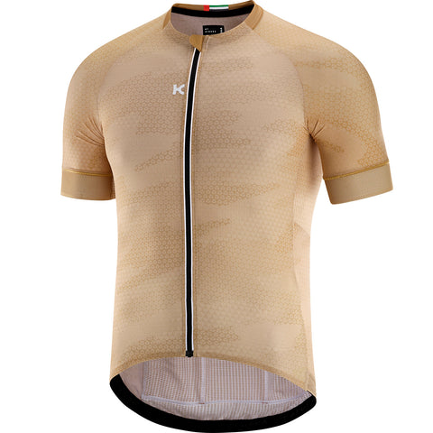 KATUSHA Men's SUPERLIGHT Cycling Jersey - Dubai / Curry