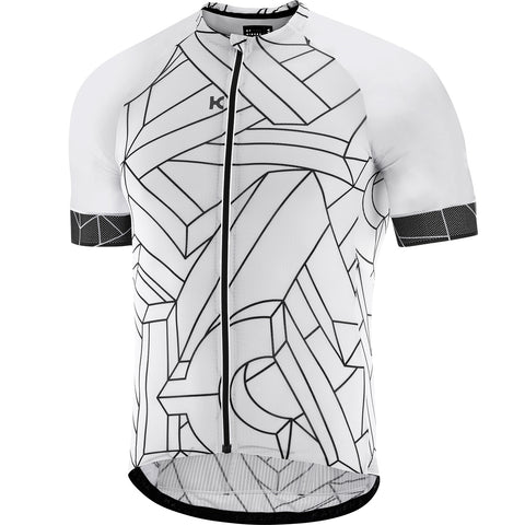 KATUSHA Men's SUPERLIGHT Cycling Jersey - K Illusion 2 / White