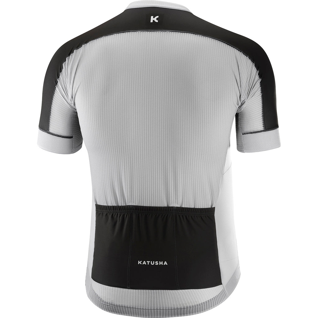 KATUSHA Men's SUPERLIGHT Cycling Jersey - Micro Chip / Asphalt