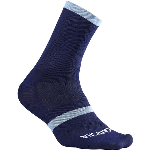 Katusha RACE Cycling Socks - Peacoat Blue Light Blue