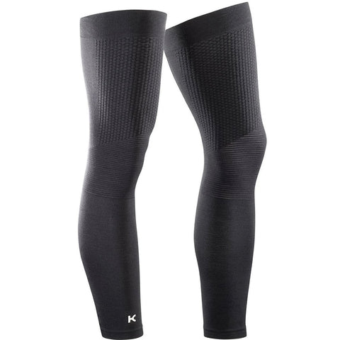 Katusha SEAMLESS Leg Warmers- Black
