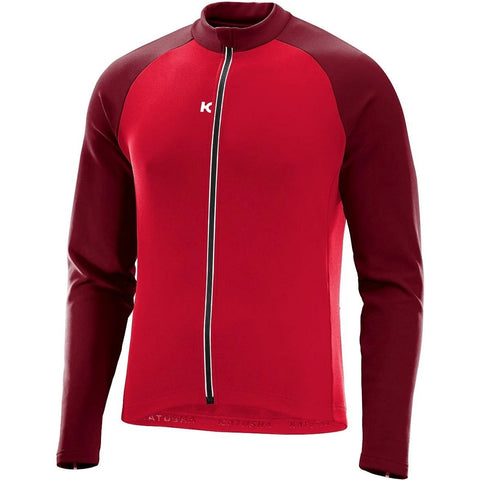 Katusha SOFTSHELL Cycling Jacket - Coral Sangre