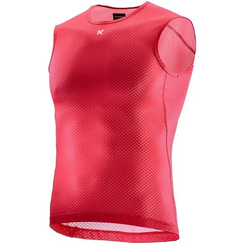 Katusha SUPERLIGHT Cycling Base Layer Sleeveless - Coral