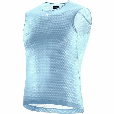 Katusha SUPERLIGHT Cycling Base Layer Sleeveless - Blue