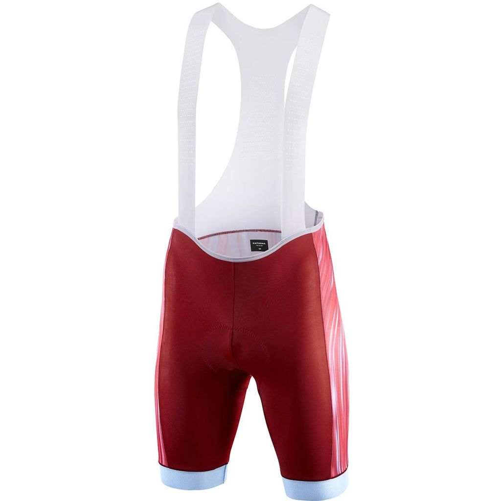 Katusha SUPERLIGHT Cycling Bib Shorts - Motion Blur Light Blue