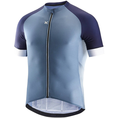 Katusha SUPERLIGHT Cycling Jersey Short Sleeve - Stellar Peacoat Blue
