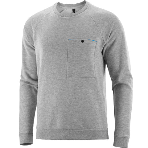 Katusha Cycling COMMUTER Sweatshirt - Light Grey