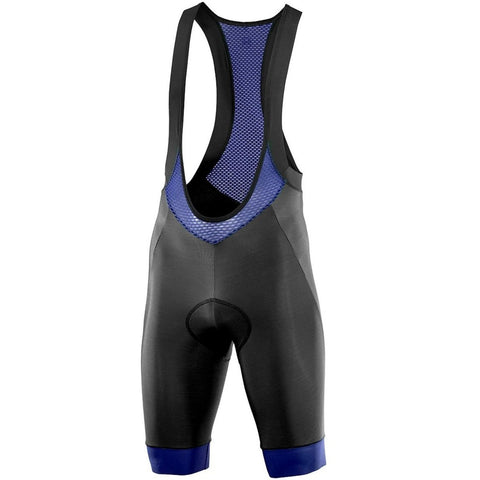 Katusha WARM DWR Cycling Bib Shorts - Black Peacoat